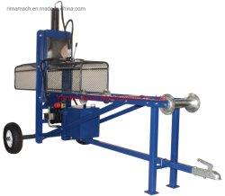 23La tonne de bois de feu électrique automatique processeur doubleur de journal