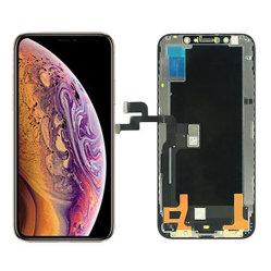 Affissione a cristalli liquidi dell'affissione a cristalli liquidi OLED del telefono mobile per il iPhone Xs, Assemblea del convertitore analogico/digitale del rimontaggio dello schermo di tocco della visualizzazione
