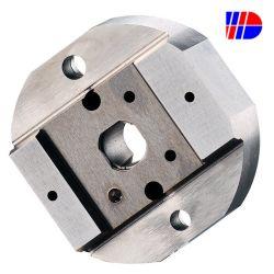 Fraisage CNC de traitement du matériel de traitement Le traitement de l'acier en aluminium sur le fil de découpe des éléments non standard