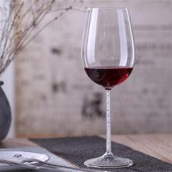 優雅な水晶7つのOzのゴブレットの赤ワインのガラスコップのゆとりのシャンペンガラス