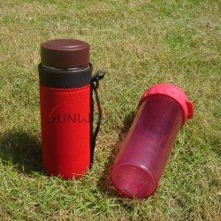 Isolante della bottiglia, supporto del sacchetto del manicotto del dispositivo di raffreddamento della bottiglia di acqua di sport del neoprene (BC0007)