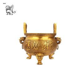 Metallbügel-Gebrauch-Dekoration-chinesische Art-großer königlicher Stativbronzecenser Btum-01