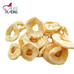 O bom gosto de maçã desidratadas frutas secas do anel da Apple