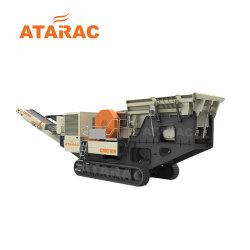 道Contructionのための移動式砕石機のプラントかクローラー移動式粉砕機