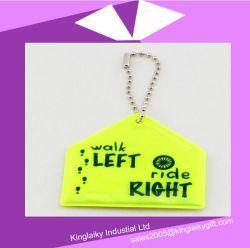 Trousseau de clés de la télécommande réfléchissant/sac pour le transport Ksv017-007 de crochet de suspension