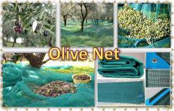 100%の新しいバージンのHDPEのプラスチックオリーブ色の純オリーブ色の収穫のネット