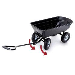 접히는 원예용 도구 많은 쟁반 덤프 실용적인 수레 손수레