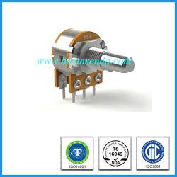 Potentiomètres rotatifs de 16 mm Unité double pour l'équipement Auido (RP1610GO)