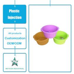 Het aangepaste Plastic Bassin van de Was van het Keukengerei van de Producten van het Huishouden van het Afgietsel van de Injectie Plastic