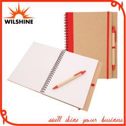 Hardcover-dagboek voor notitieboekjes met dubbele spiraal voor promotioneel cadeau (SNB107)
