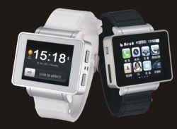 2013新しいI5腕時計の電話Iwatchのクォードバンドタッチ画面サポートSkype Facebook