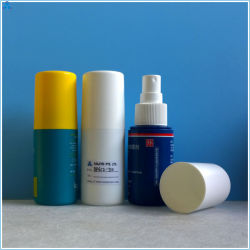 50ml, 80ml, 100ml Portable garrafa spray 24mm aparafusar com tela de seda