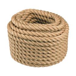 Usine de gros de brins de Manille naturelles Twist 3/4/Sisal Twist cordes en fibre de chanvre de jute pour la Marine et de la pêche