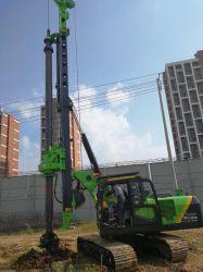 Grupo hidráulico da máquina de perfuração Tysim Kr90A escavadeira da Máquina de perfuração rotativa utilizada Perfuraçaäo Terra pequena máquina de perfuração