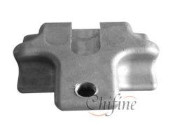 Sujetador de fundición de aleación de aluminio con acabado limpio
