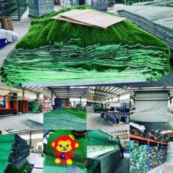 prato inglese sintetico artificiale della plastica dell'erba del tappeto erboso residenziale di 43mm