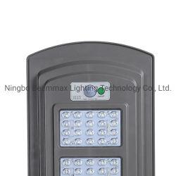 Tudo em uma rua de LED Solar OEM da luz de estrada para o jardim com Sensor de movimento remoto /Indução de microondas Beammax Integrado