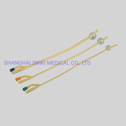 CE/ISO-zertifizierter medizinischer Einweg-Latex-Ballon mit steriler Silikonbeschichtung Katheter/Harnkatheter