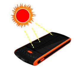 12000mAh banco de Bateria solar de silício para telefone e Tablet