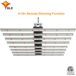 640W Dimmable 가득 차있는 스펙트럼 플랜트 Hydroponic LED는 빛을 증가한다