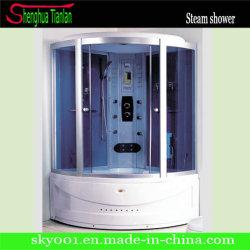 Роскошный квадрант синий закаленное защитное стекло модульный душ Cabina Doccia (TL-8828)