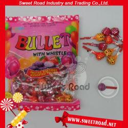 Lollipop dolce del fischio di sapore della frutta