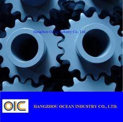 العجلة المسننة لسلسلة البكرات الصناعية