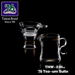 76개의 새로운 스타일의 유리 차 & 커피 쉐러 THH-230