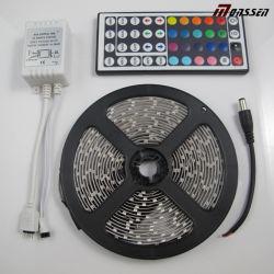مصباح LED، محول DC12 فولت، RGB 50SMD IR 44، شريط LED وحدة التحكم