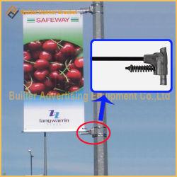 Poste de luz de la calle de metal colgante de Carteles de publicidad (BS-BS-049)