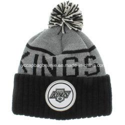 熱いSell 100%Acrylic Pompom Knitted Hat Beanie