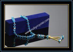 De machinaal gesneden Blauwe Rozentuin 33/45/66/99PCS van het Glas (K7)