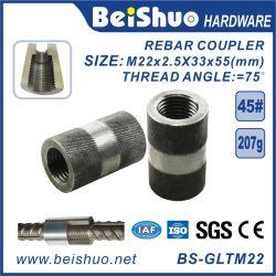 Los materiales de construcción de hormigón hilo paralelo acoplador mecánico