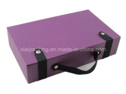 Élégant en cuir de luxe de fantaisie Custom Box (RWPH03)