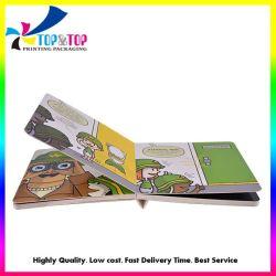 заводская цена индивидуального высокое качество картона детей дети образования на английском языке книги печать