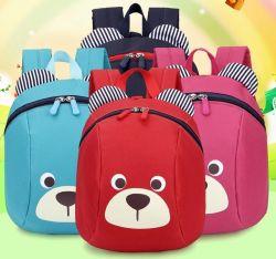 2019의 학교 나이 드는 책가방에 의하여 반대로 분실되는 아이 아기 부대 귀여운 동물성 곰 패턴 아이들 책가방 유치원 학교 부대 1-3