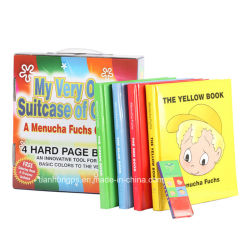 Encadernação perfeita cobertura rígida com costura crianças a impressão de livros de história