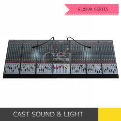 48CH Consola de mistura Gl-2800-848 Misturador de potência de áudio digital