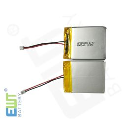 Lithium-Polymer-Akku Lipo Lp585460 3,7V 2000mAh mit Steckverbinder