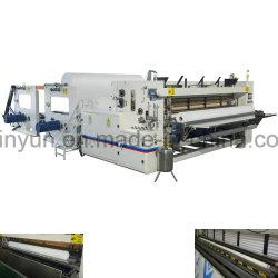 Máquina de Papel Higiênico Completamente Automática de Alta Velocidade de Rebobinagem e Perfuração
