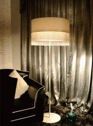 De Verlichting van de Staand lamp van de Stof van de elegantie (1022F)