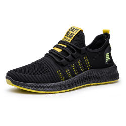 Cheap Mens Flyknit respirant chaussures de sport de la mode des chaussures de course occasionnel, confortable et l'homme extérieur antidérapant Wear-Resistant Sneakers chaussures