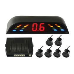 4 Fühler-automatische Funktions-drahtloser anschließenparken-Rückfühler mit Digitalanzeige der Warnungs-LED