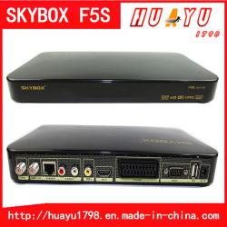 오리지널 Skybox F5s 풀 HD 지원 Cccam 및 USB WiFi & GPRS HD 위성 수신기 Skybox F5s(핀 3개 영국 플러그/유럽 플러그