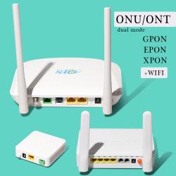 Btpon preiswertes Soem 1, 2, 4 PortWiFi Faser Optik-FTTH 4ge+WiFi (2.4G+5G) 2*VoIP Gpon ONU 1ge+1fe+WiFi Gpon/Epon ONU