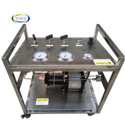 Торговая марка Terek высокого качества портативных высокого давления с ручным приводом газовых бустерных станции для тестирования