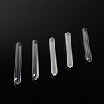 Laboratorio de buen precio 12x75 5ml de plástico claro PS Tubos de ensayo