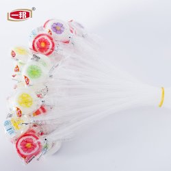 8g Hot Sale saveur des fruits disque Sweet Lollipop