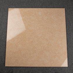 Chambre à coucher des tuiles de céramique polie en porcelaine Beige 600x600mm