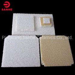 Cerâmica de alumina porosa, reticulado Ceramic filtro de espuma de isolamento/Catálise da transportadora aérea